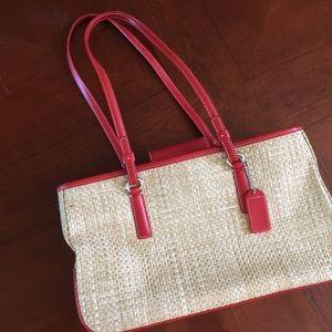 Great little summer bag- authentic Coach
